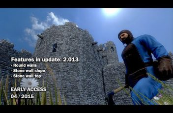 Medieval-Engineers-Update-02.013-Round-walls-Stone-wall-slopetop
