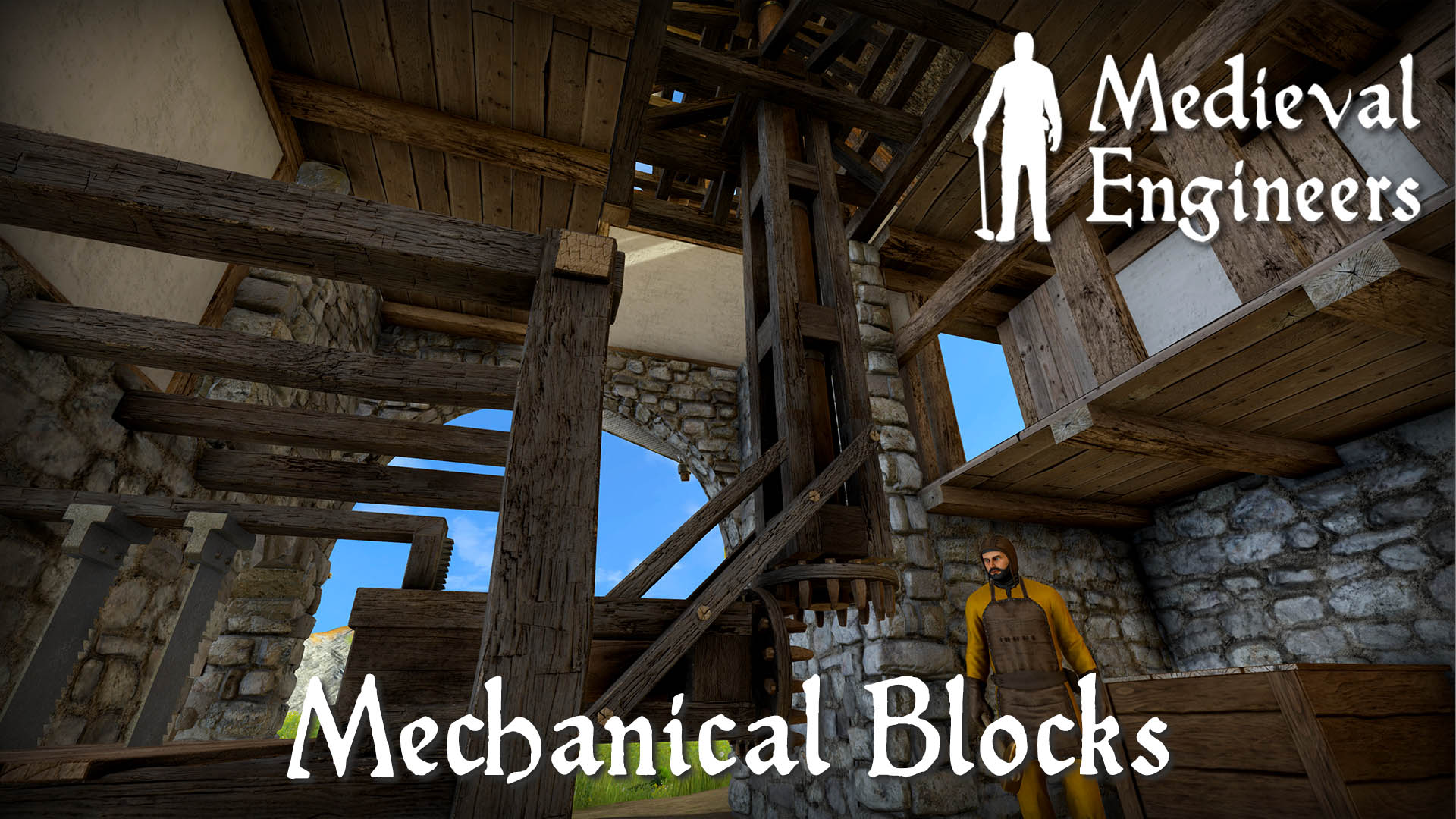 Update 0 6 – Now With Mechanical Blocks! – Medieval Engineers