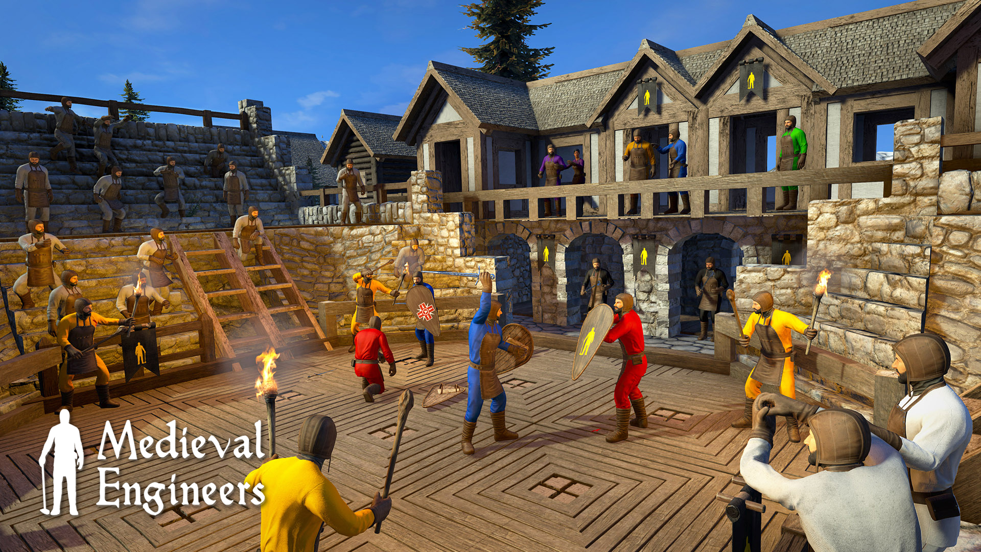Update 0 6 4 – Major Overhaul of Combat – Medieval Engineers